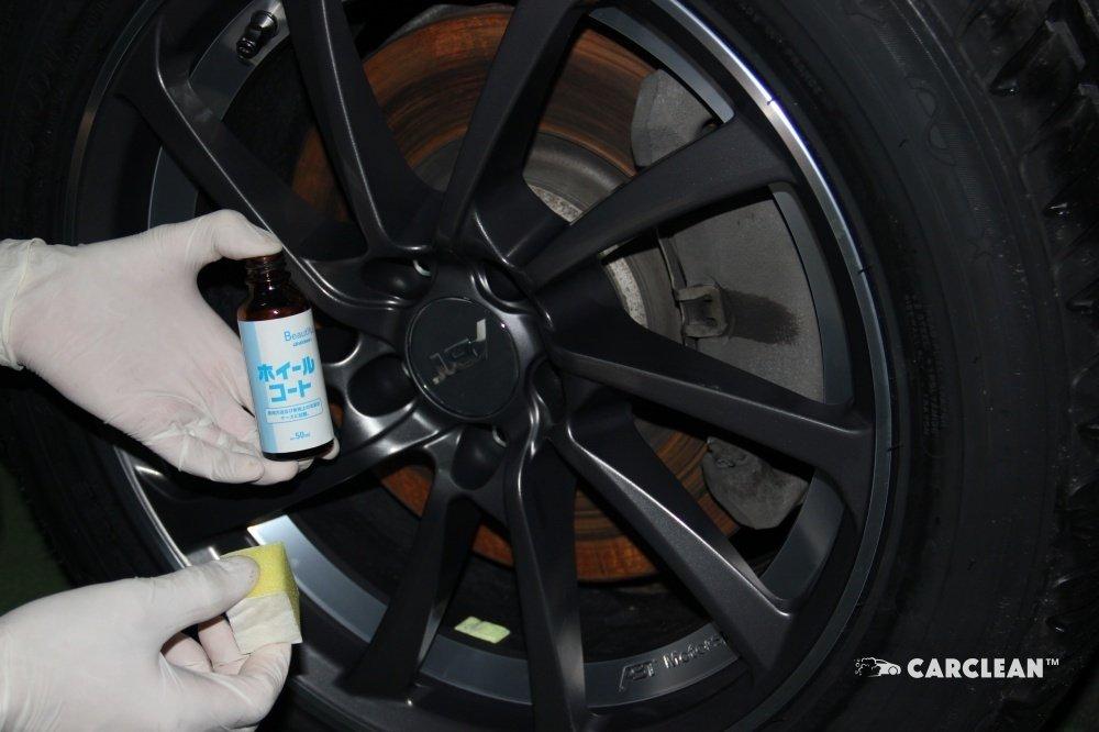 Жидкое стекло для дисков от G'Zox Wheel Coat