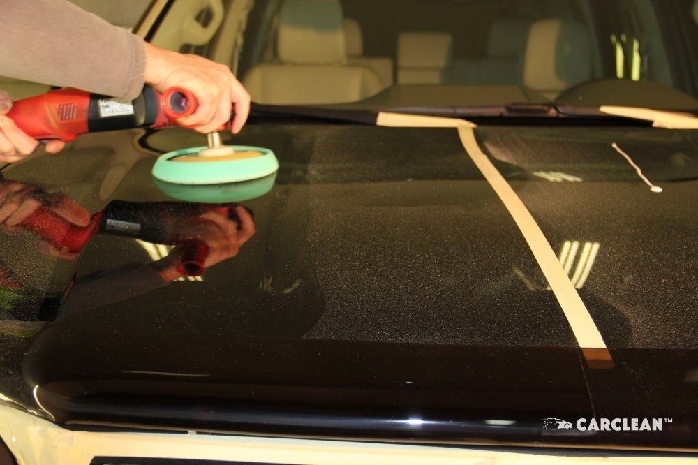 Полировка машинкой Makita и полировальными кругами Nanoskin