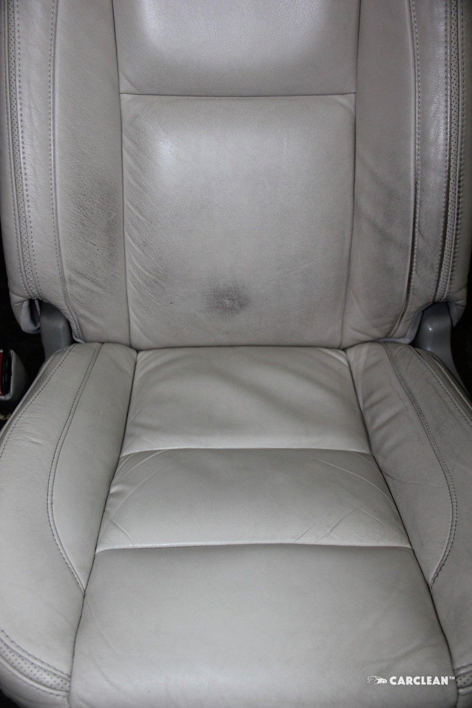 Чистка кожаных сидений автомобиля