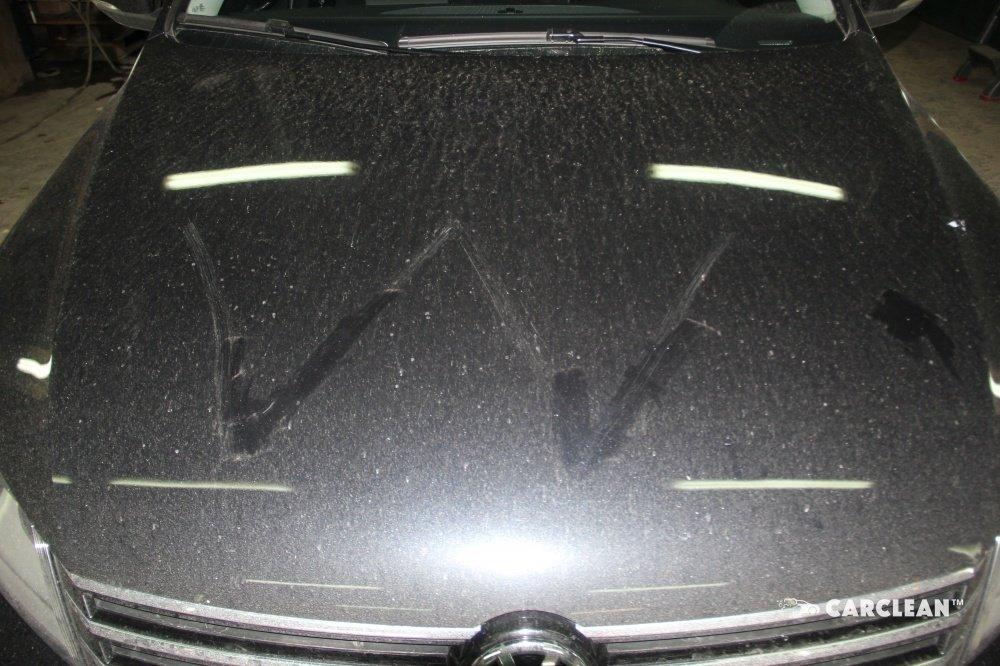 Автомобиль до полировки