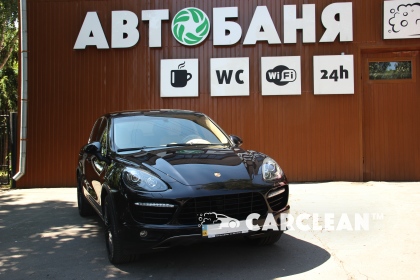 Детейлинг услуги для автомобиля Porsche Cayenne Turbo