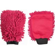 "Washing glove Microfibre ""Rasta"" cherry red"