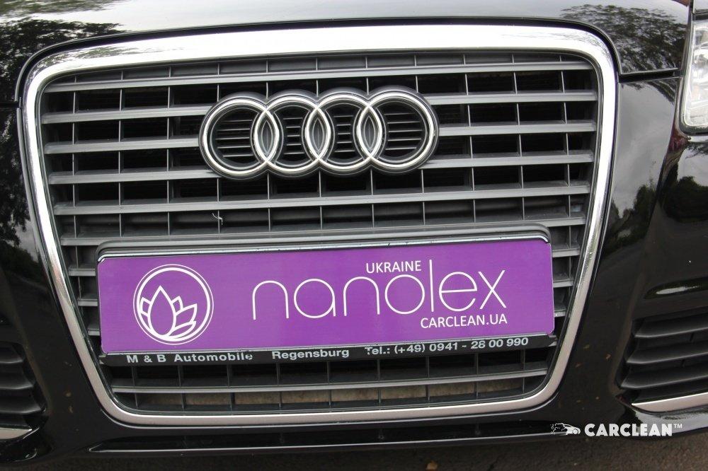 Защита кузова жидким стеклом Nanolex