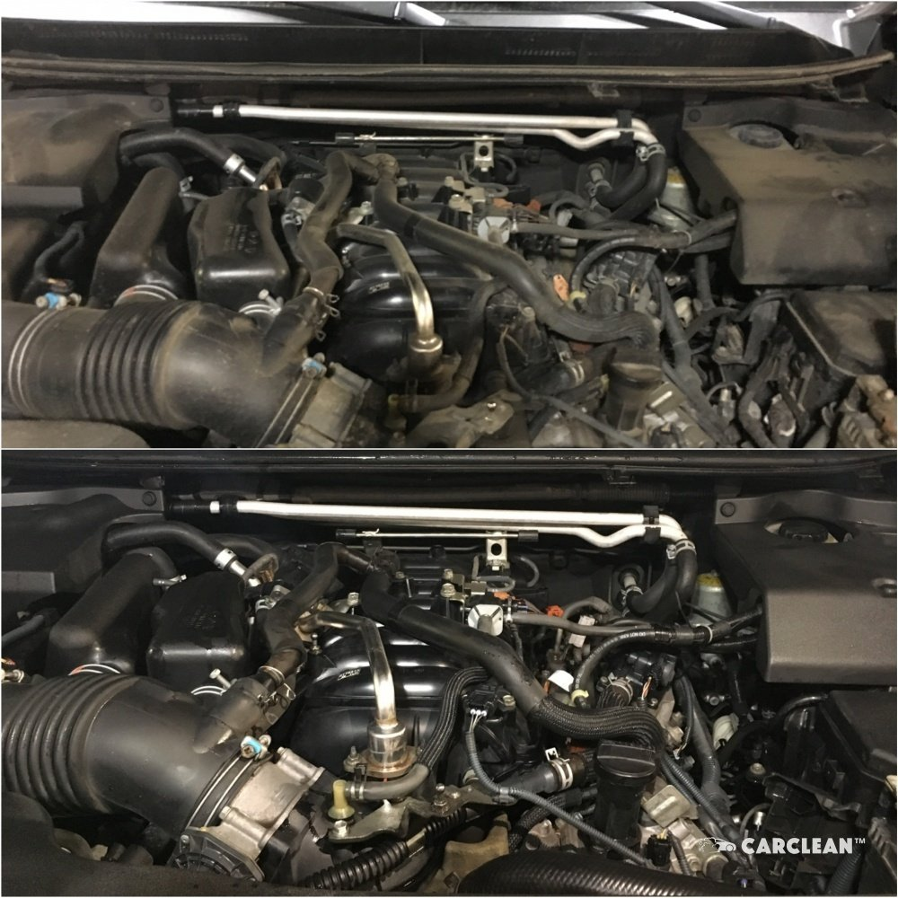 Мойка двигателя и подкапотного пространства