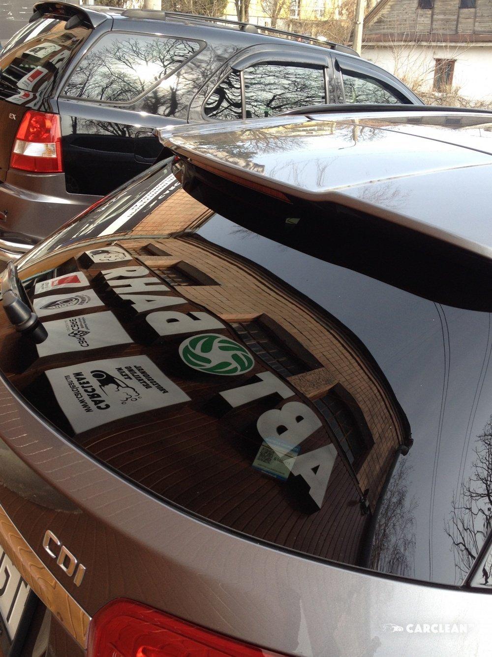 Антидождь для стекла автомобиля  - студия автодетейлинга Carclean Луцк
