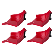 Detail Tire Guardz Red 4-pack