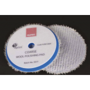 Wool Polishing pads BLUE Coarse 80/90 mm