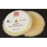 Wool Polishing pad Medium Yellow 130/145 mm