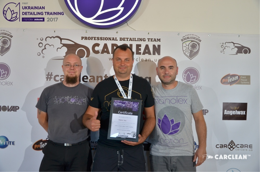 Ukrainian Nanolex Detailing Training 2017