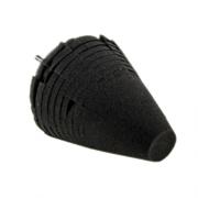 """MONELLO - Uni-Cone Black Finishing Cone - 4"""""""