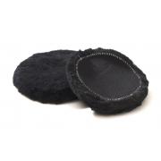 Wool Pads Black 75 mm