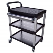 Multipurpose trolley with drawer